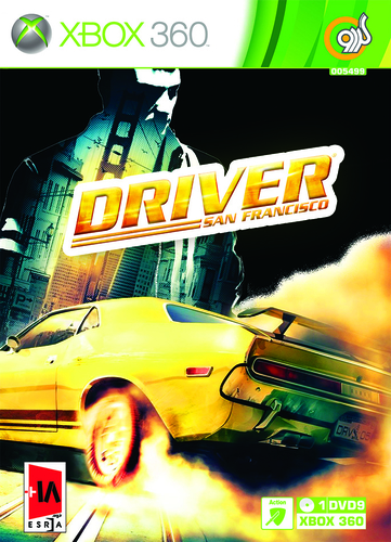 بازی اکس باکس 360 Driver san francisco